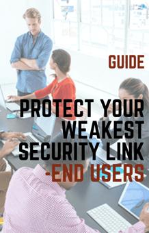 weakest link - end users